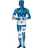 omino blu